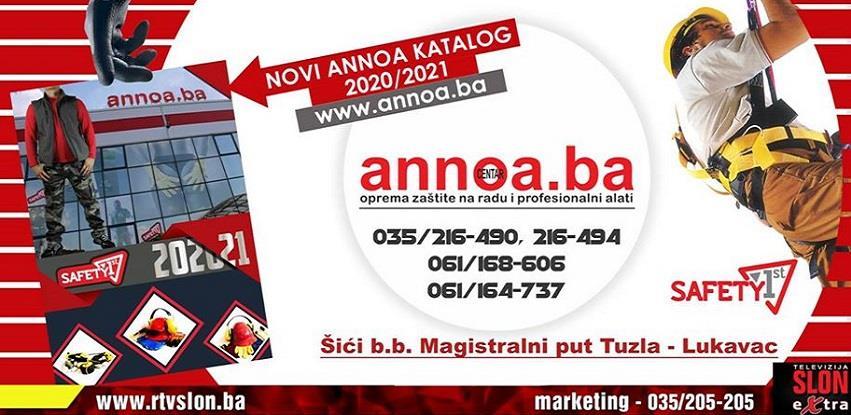 Annoa Tuzla I dalje uz Vas – Sve narudže se dostavljaju na Vašu adresu!