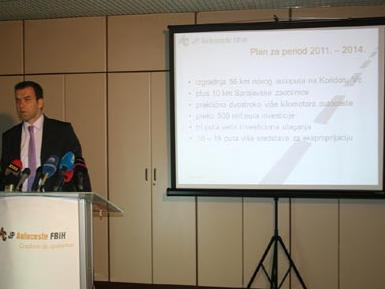 Do kraja 2014. FBiH će imati 102 km autoceste