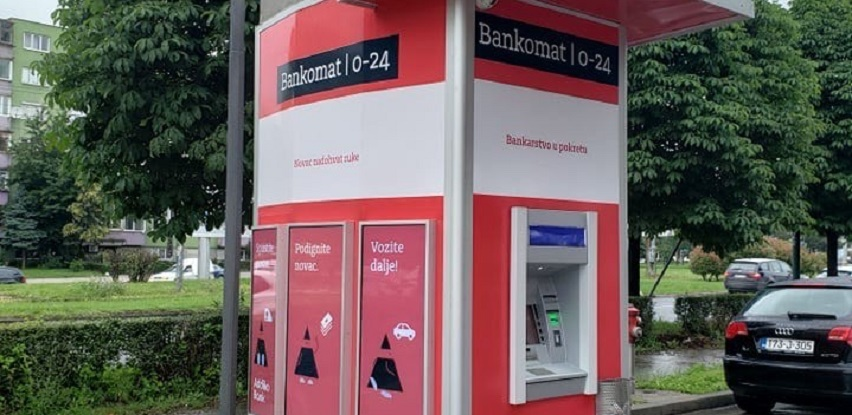 Addiko drive-in bankomat na Čengić Vili ponovo u funkciji (Foto)