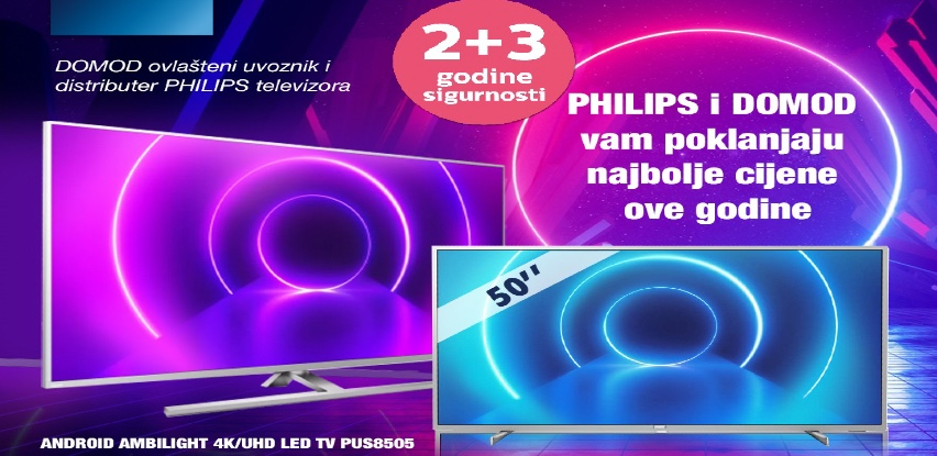 Philips televizori - Izvanredan kvalitet slike, elegantan dizajn te sjajan zvuk