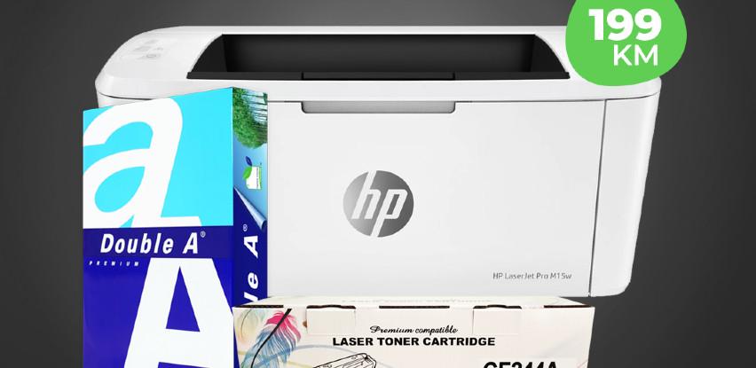 Printer HP LaserJet Pro M15w produžena akcija!