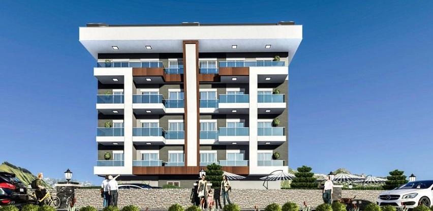 Alanya/Oba novi stambeni kompleks sa beskamatnim ratama od 48.000 Eura