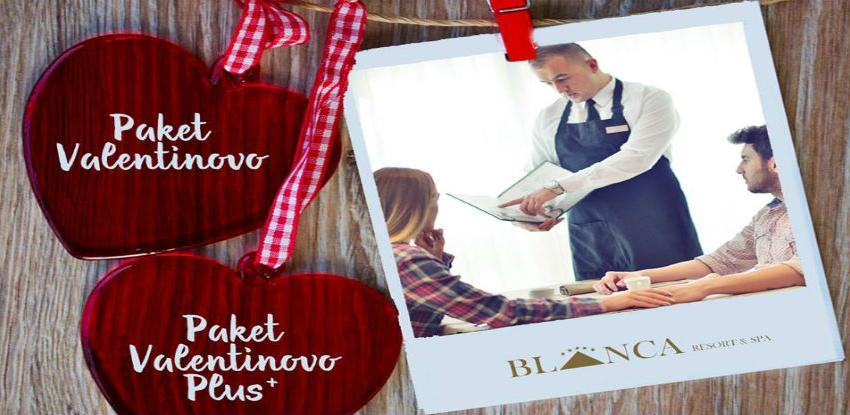 Provedite Dan zaljubljenih u Hotelu Blanca Resort & Spa