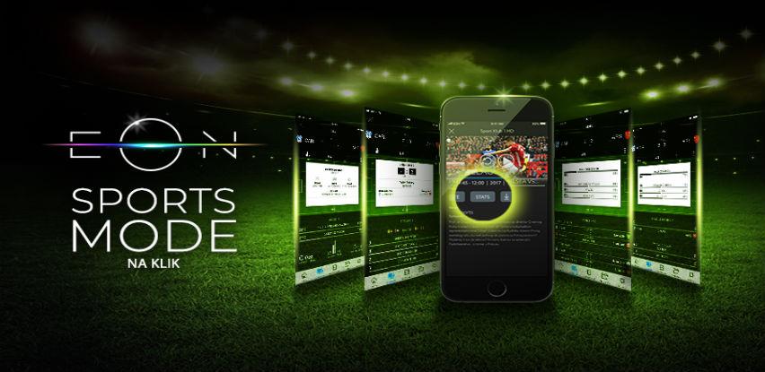 Nove statistike u okviru Sports Mode opcije na EON-u