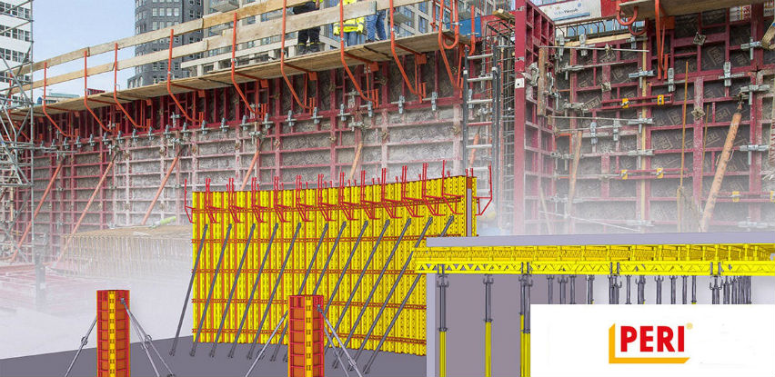 PERI OPLATE - sistemske oplate i skele za sve vrste betonskih radova