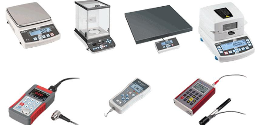 Instrumenti proizvođača KERN i SAUTER
