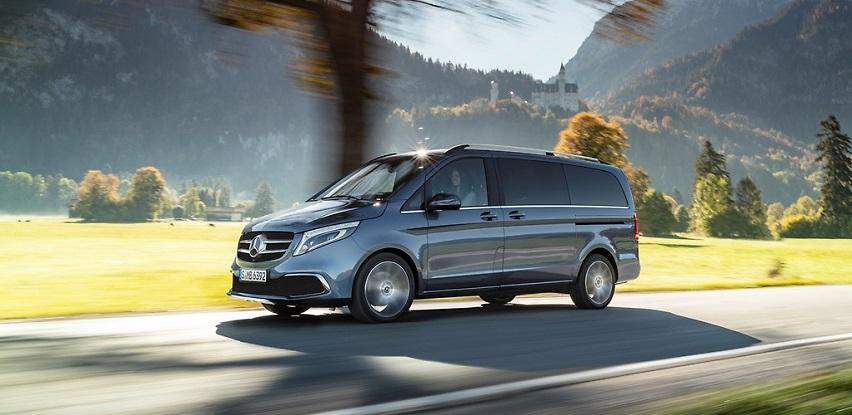 Doživite varijabilnost V-klase - Mercedes-Benz V 220d