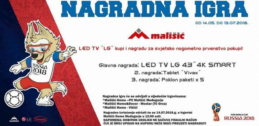 LED TV LG kupi i nagradu za svjetsko nogometno prvenstvo pokupi!