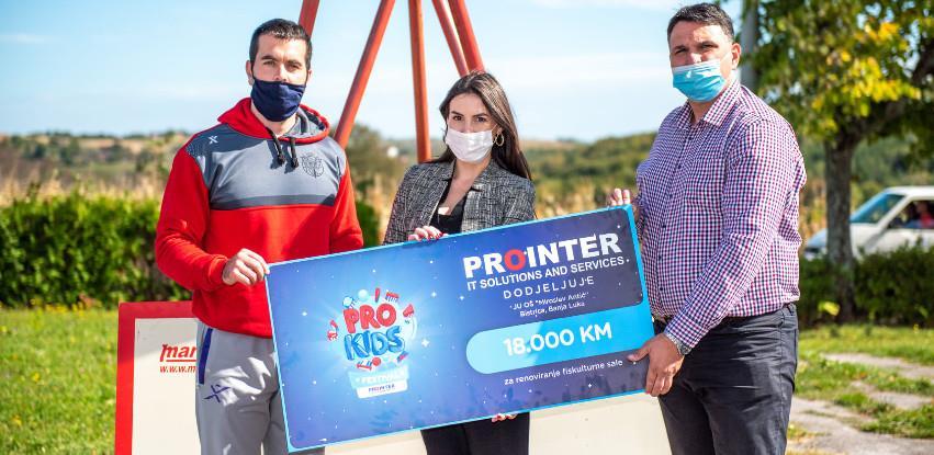 ProInter ITSS uručio vrijednu donaciju OŠ Miroslav Antić