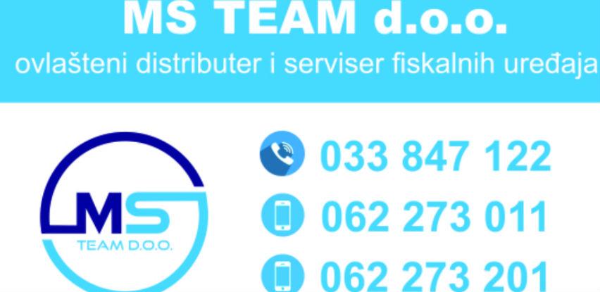 Kupovinu i servisiranje fiskalnih uređaja povjerite MS-Team-u