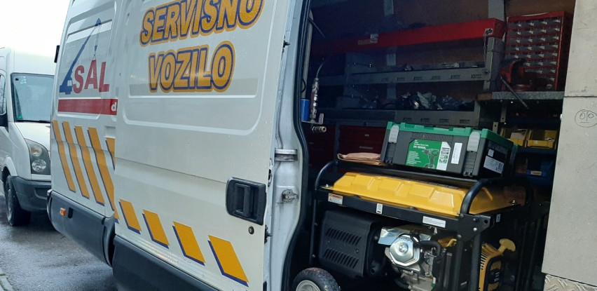 Pozovite Jasmin M i opremite svoje servisno vozilo!
