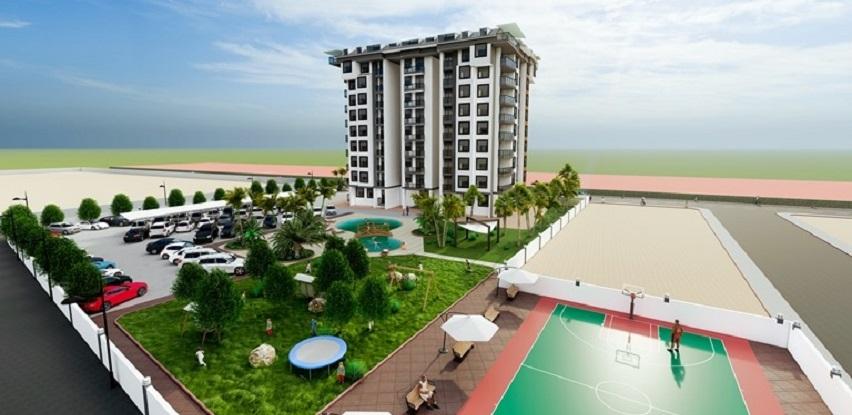 Nova gradnja, apartmani i penthausi na području Gazipaša od 49.000 Eura