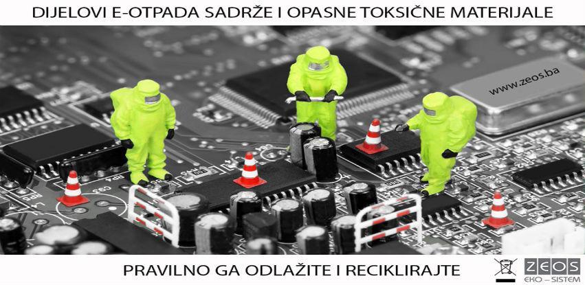 Recikliranje i upravljanje EE otpadom sa ZEOS eko-sistem je vrlo jednostavno