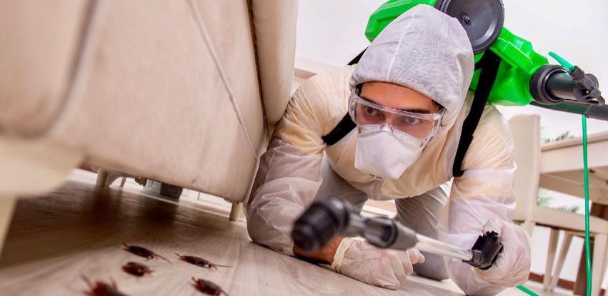 Detaljna dezinfekcija prostorija u kojima živite I radite