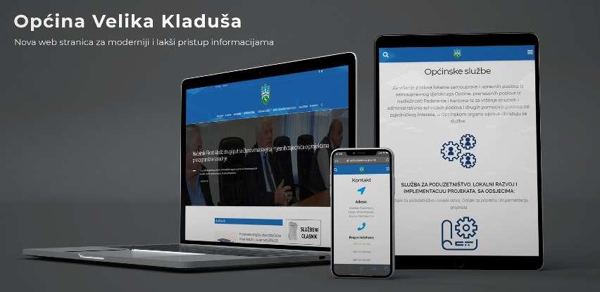Općina Velika Kladuša ima novu redizajniranu web stranicu