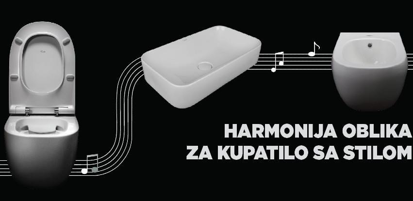 Harmonija oblika – Fluenta sanitarna keramika