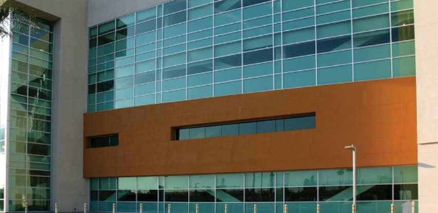 Klasična fasada zid-zavjesa je rješenje za spoljne strane objekta