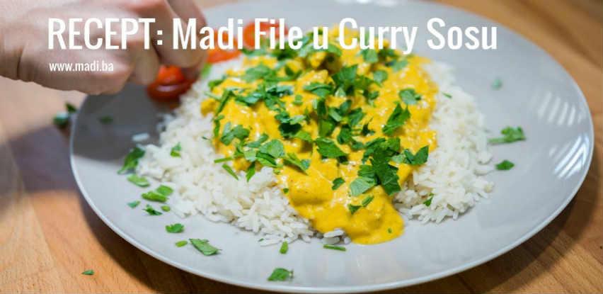 Za današnji ručak spremite Madi pileći file u Curry sosu