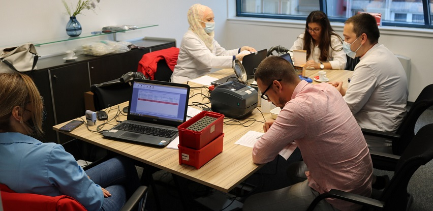 Akcija dobrovoljnog darivanja krvi u Addiko banci