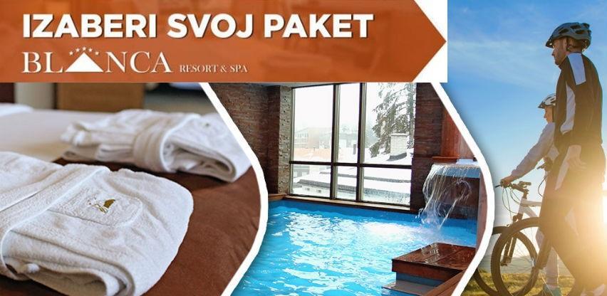 Izaberi svoj paket u Hotelu Resort & Spa Blanca i uživajte