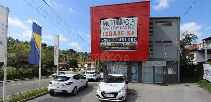 Metropola nekretnine iznajmljuje višenamjenski poslovni objekat, Vogošća (Foto)