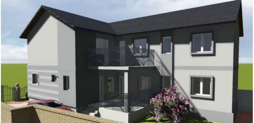 Bautrend fasadne boje primarno su pogodne za nove i obnovljive fasadne površine
