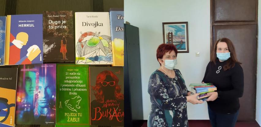 MI-BOSPO donirao neke od najčitanijih naslova NUB Derviš Sušić Tuzla