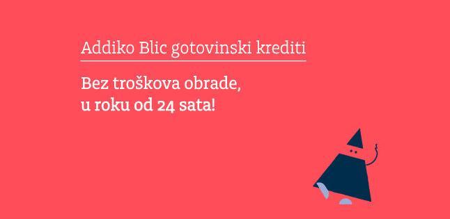 Addiko Blic gotovinski krediti za ispunjenje vaših želja