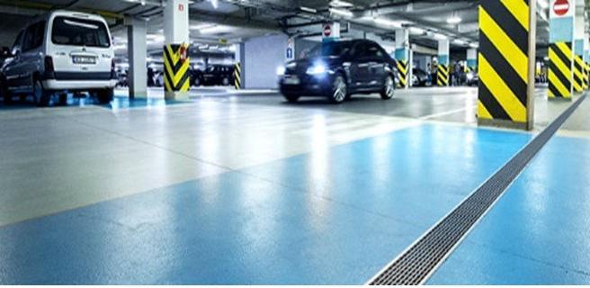 ACO upravljanje površinskim vodama za otvorene i podzemne parkinge