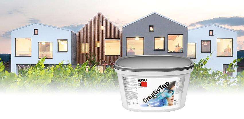 Baumit CreativTop – Završni fasadni malter za modeliranje