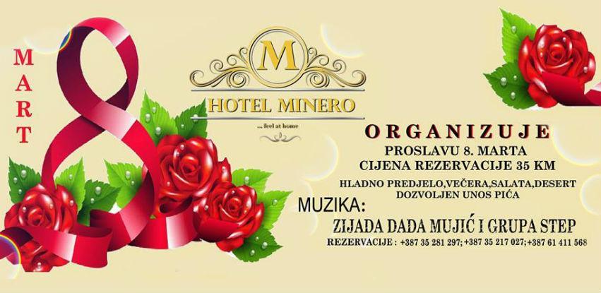 Hotel Minero Tuzla organizuje proslavu 8. Marta