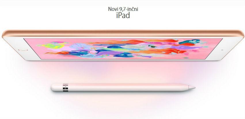 Novi iPad za samo 839,00 KM