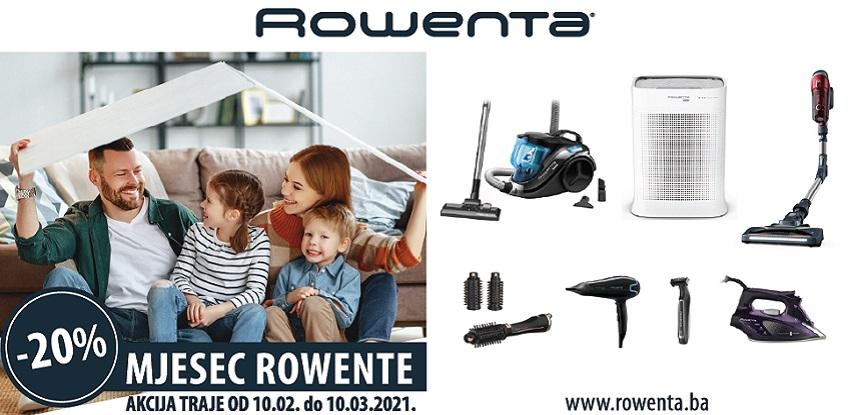 Mjesec Rowente, -20% popusta na kompletan Rowenta asortiman!