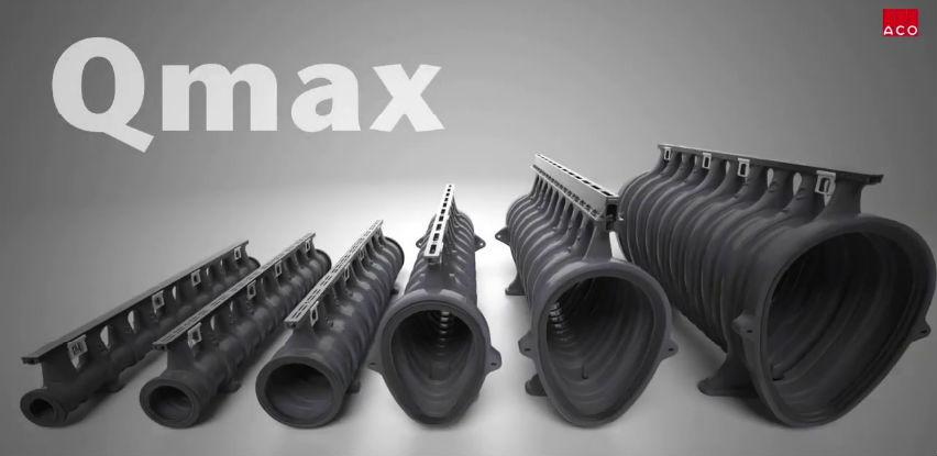 ACO Qmax - Prikupljanje, zadržavanje i transport velike količine vode