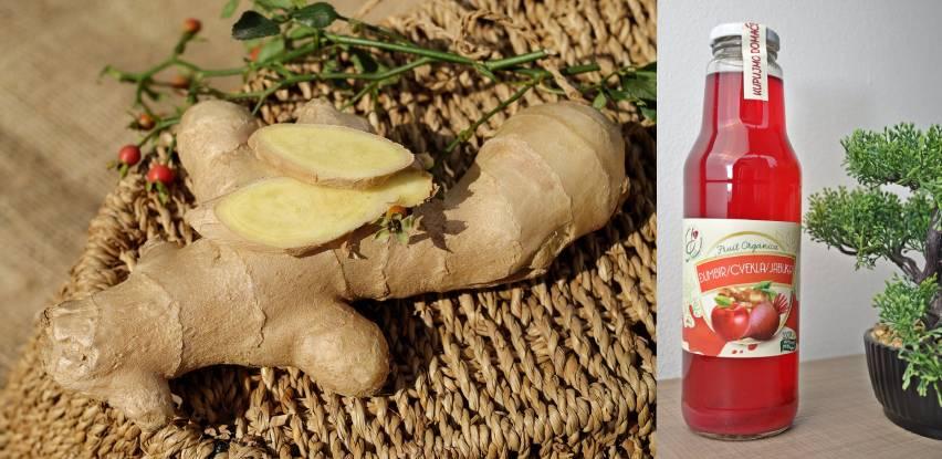Fruit Organica vam predstavlja sok od đumbira, cvekle i jabuke