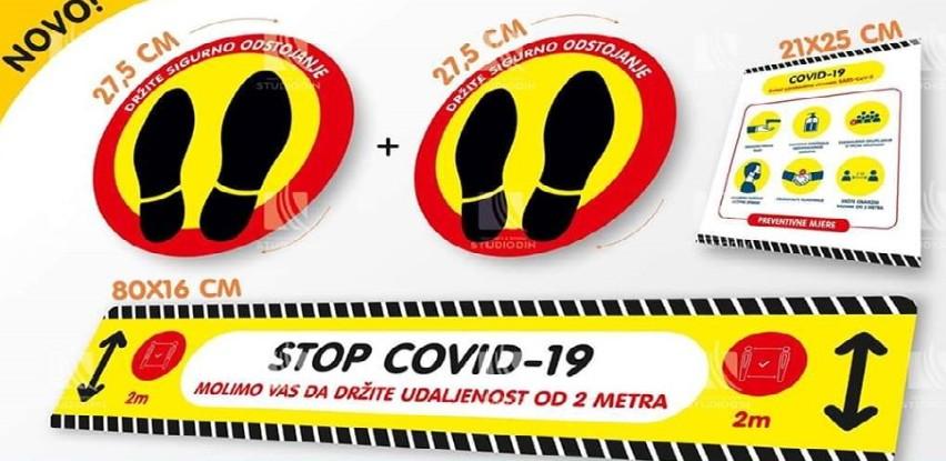 Stikeri Stop COVID-19