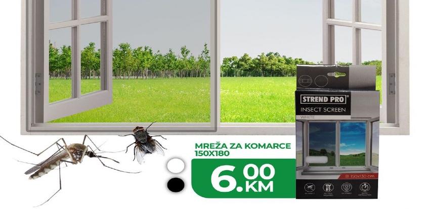 Mreža protiv komaraca, muha i svih drugih insekata