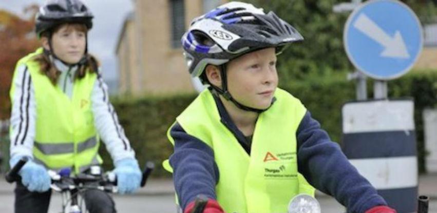 Signalizirajuće veste za sigurnu vožnju biciklom vaših mališana
