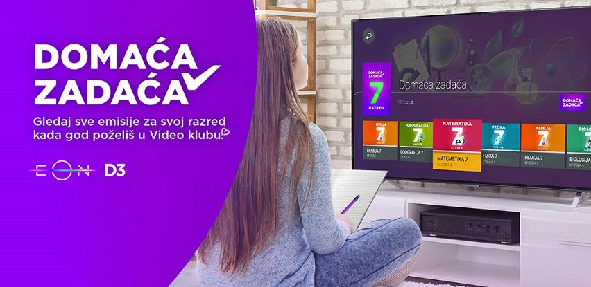 """Telemach aktivirao novi Video klub katalog pod nazivom """"Domaća zadaća"""""""