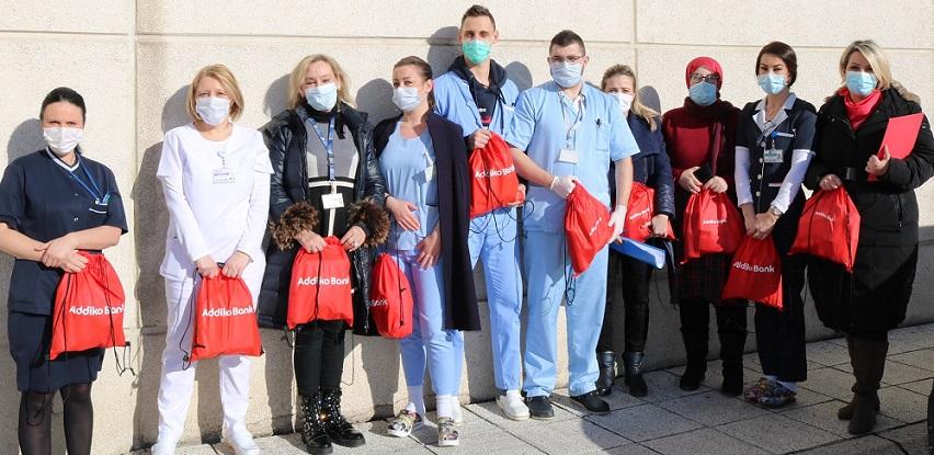 Donacija zaposlenika Addiko banke pacijentima Onkološke klinike KSUC