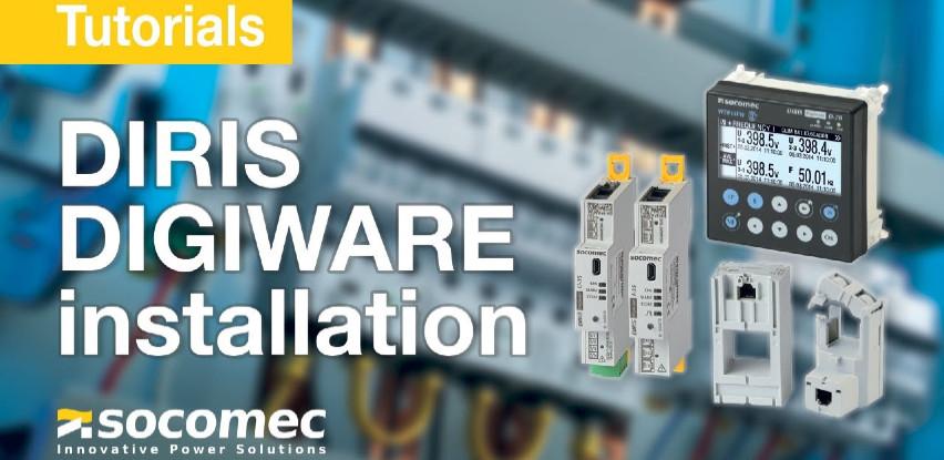 DIRIS - Multifunkcijsko mjerilo za nadzor potrošnje električne energije