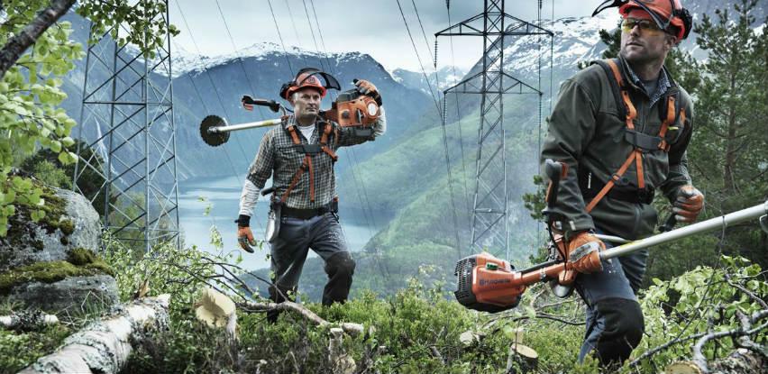 Husqvarna šumski čistači daju vam kontrolu nad teškim terenima