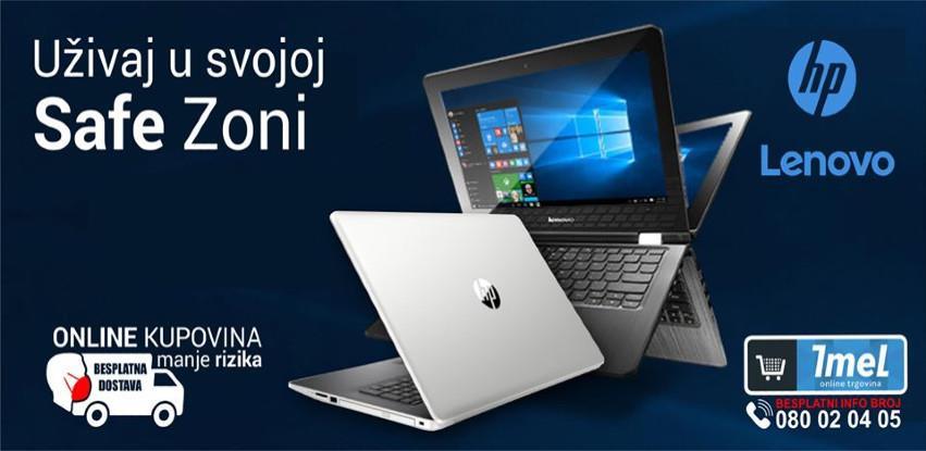 50 raspoloživih modela HP i Lenova laptopa za rad ili školu od kuće