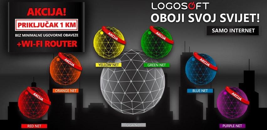 Oboji svoj svijet Logosoft internetom!