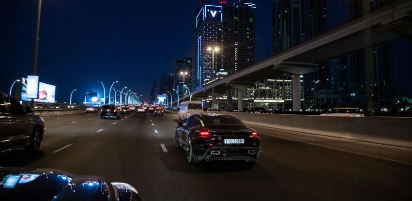 Porsche Taycan u posjeti Šangaju