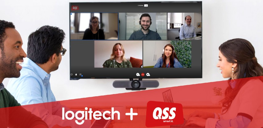Logitech & QSS Video conferencing je Vaš savršeni duo!