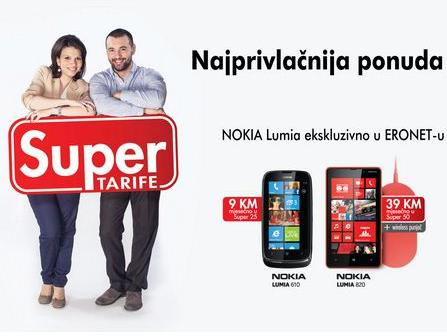 HT Eronet - Uz Super tarife i super Nokia Lumia