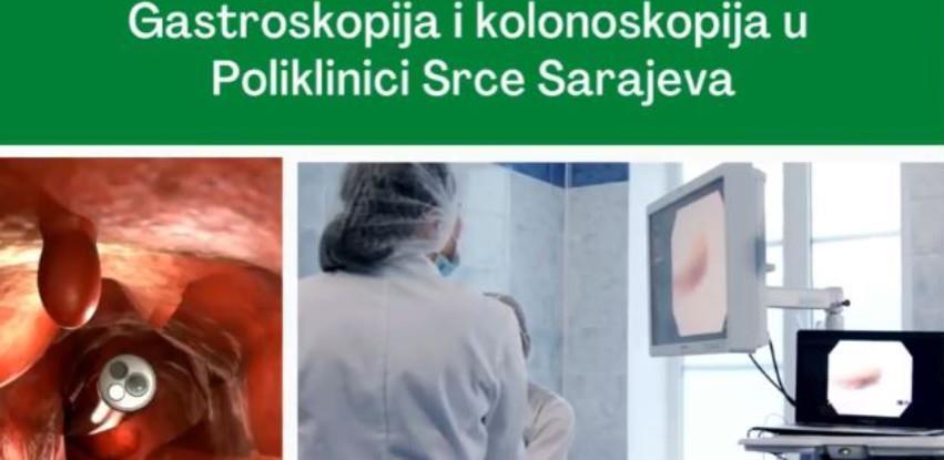 Gastroskopija i kolonoskopija u Poliklinici Srce Sarajeva