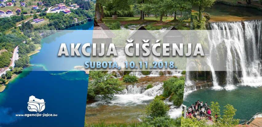 JU Agencija organizira akciju čišćenja Malog Plivskog jezera, Vodopada i Tvrđave