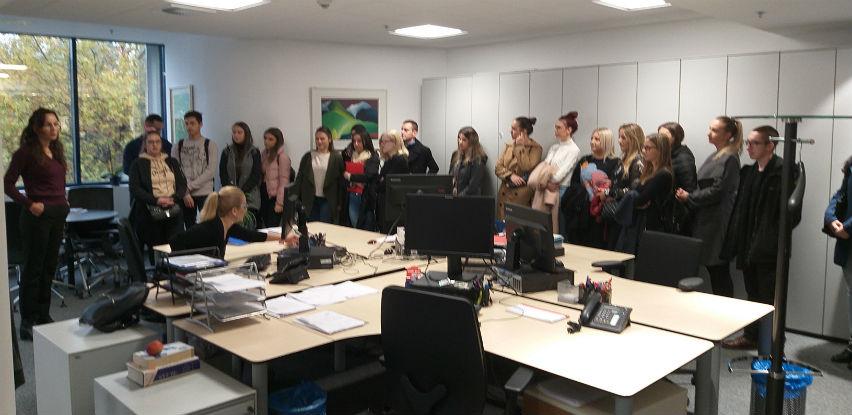 Studenti Ekonomskog fakulteta Sarajevo u posjeti Addiko banci